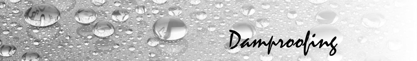 Damproofing banner