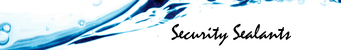 Security Sealants banner
